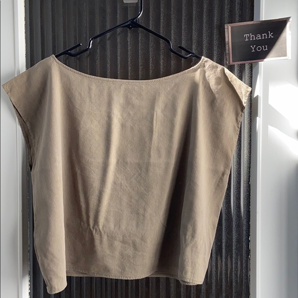 Babaton with Linen blouse